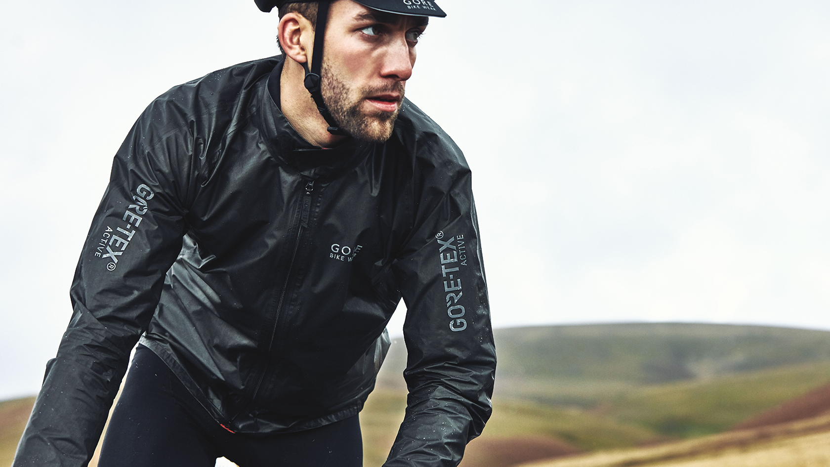 GORE_TEX waterproof cycling jacket